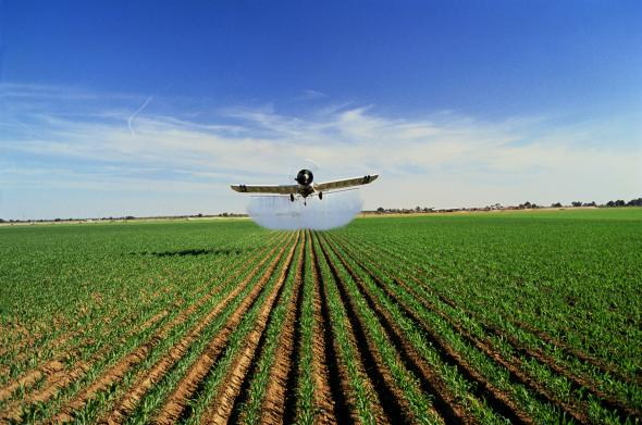 National Geographic cropdusting