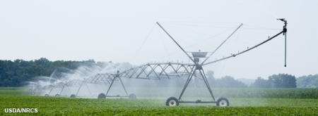 USDA water irrigation