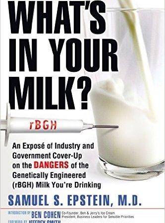 rBGH in milk, GMO milk, rBGH dairy, rBGH health effects, hippocrateas, wecology handbook, wecology