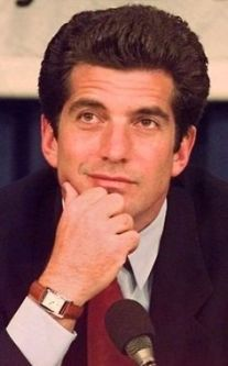 FILE--John F. Kennedy Jr. in this April 29, 1997 file photo. The tragedies that have befallen the Kennedy family may have helped keep down bids on the first airplane owned by John F. Kennedy Jr. Auctioneers on Saturday opened bidding for the 1977 Cessna 182Q Skylane at $300,000, but the plane eventually sold for only $120,000 to an Oklahoma car dealer, The New York Times reported in Monday's Sept. 11, 2000 editions. (AP Photo/Stephan Savoia,File)